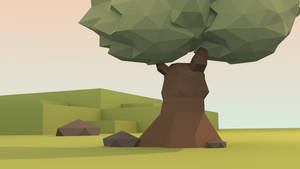 Blender: Low Poly Tree