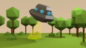 Blender: Aliens?! by Gindew