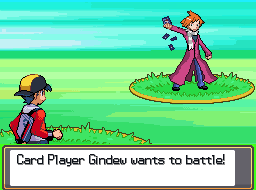 Pokemon Battle!: Trainer vs. Card Player Gindew! by Gindew