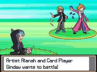 Pokemon Battle!: Trio Battle! by Gindew