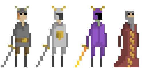 Improved Character Designs!