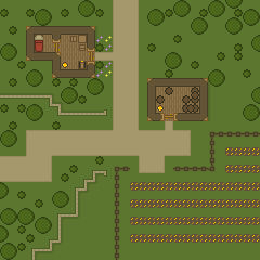 DnD Map: Farmland