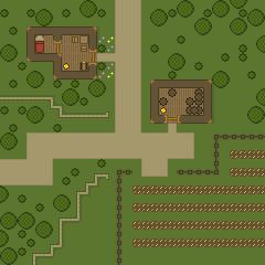 DnD Map: Farmland by Gindew