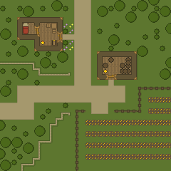 DnD Map: Farmland by Gindew