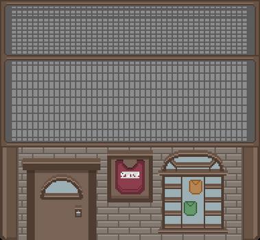 Pixel Life: Clothes Shop