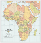 Map of Africa in 1960 [5083 x 5308]