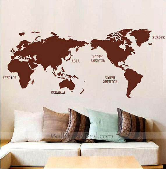 World map wall sticker by amandabetty on deviantart world map wall sticker by amandabetty gumiabroncs Image collections