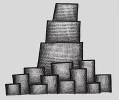Ziggurat City by Slightly-Strange