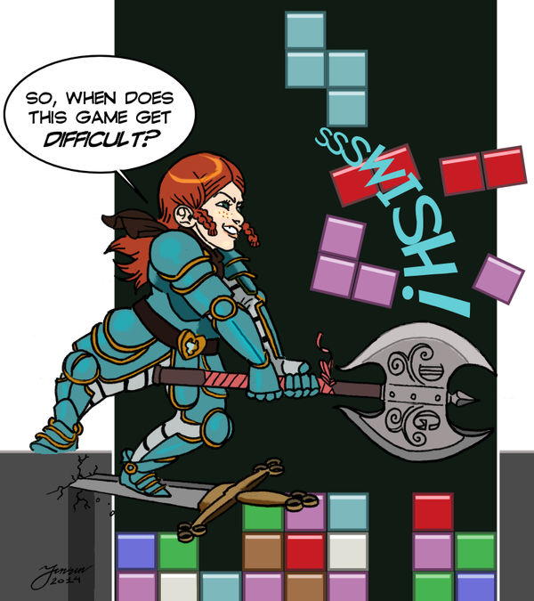 If The Rat Queens Played Video Games - 2 of 4