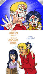 NaruHina Month 2015 - Day 24: Daddy's Girl by mokkurkalfe