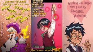 HPMOR Valentine's Day Cards - Part 1 by mokkurkalfe