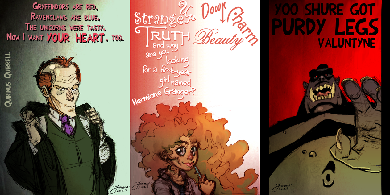 HPMOR Valentine's Day Cards - Part 2 by mokkurkalfe