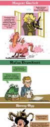 Discworld - Tea Dragons by mokkurkalfe