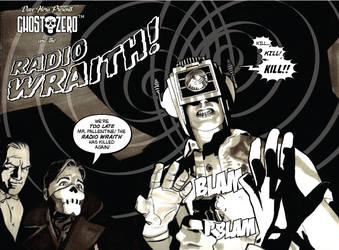 Ghost Zero vs the Radio Wraith by Roguehill