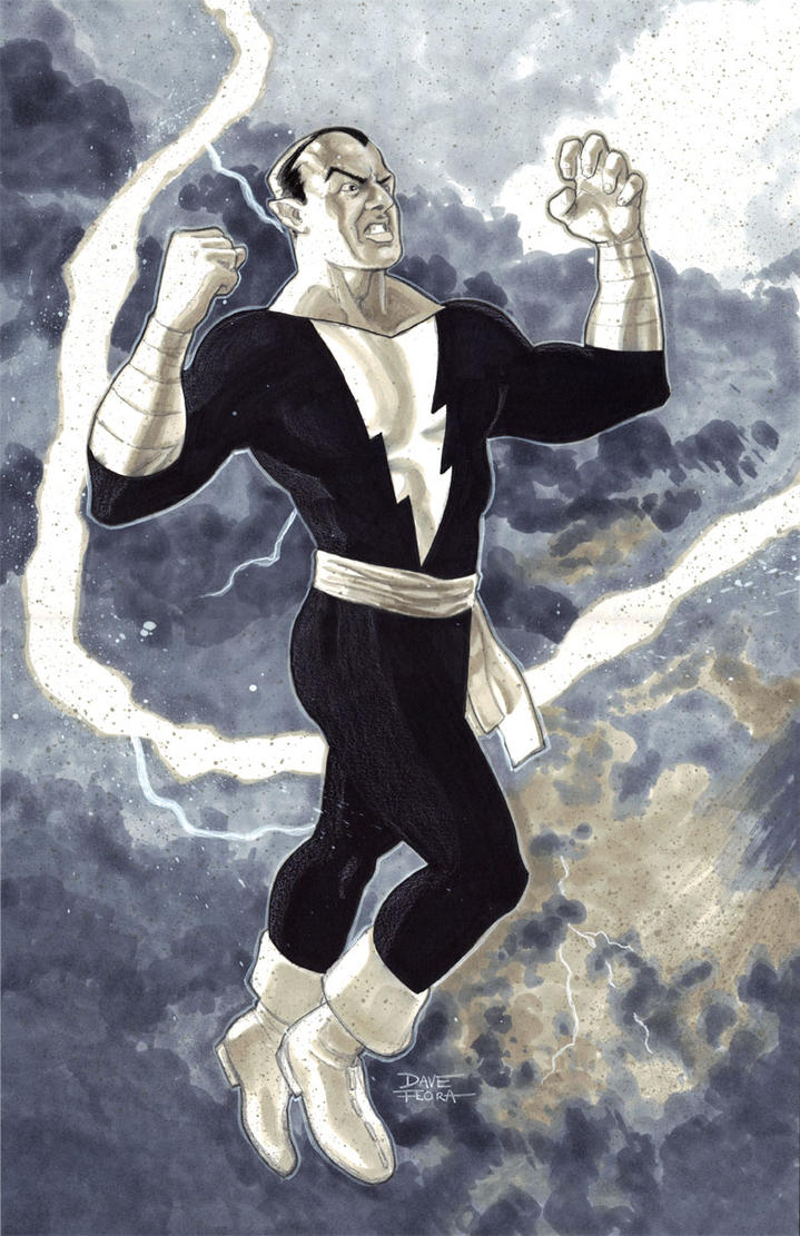 Black Adam by Roguehill
