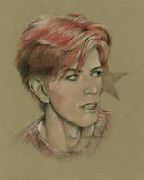 David Bowie by AnnaMorozova