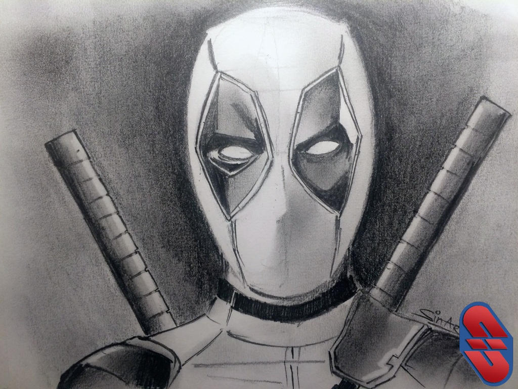 Deadpool Pencil Sketch by sinarty77 on DeviantArtDeadpool Sketch
