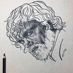 Tyrion in Charcoal by sinarty77