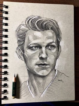 Tom Holland in Graphite - SinArty