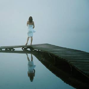 Meditation in fog III