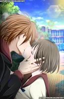 gatsu no kimi spica kiss by Hectorponce98