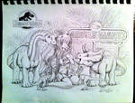 Jurassic World Misuzu  The Gentle Giants Petting