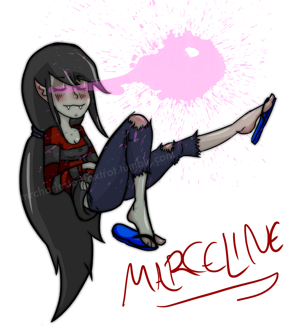 Marceline by Chachathefox