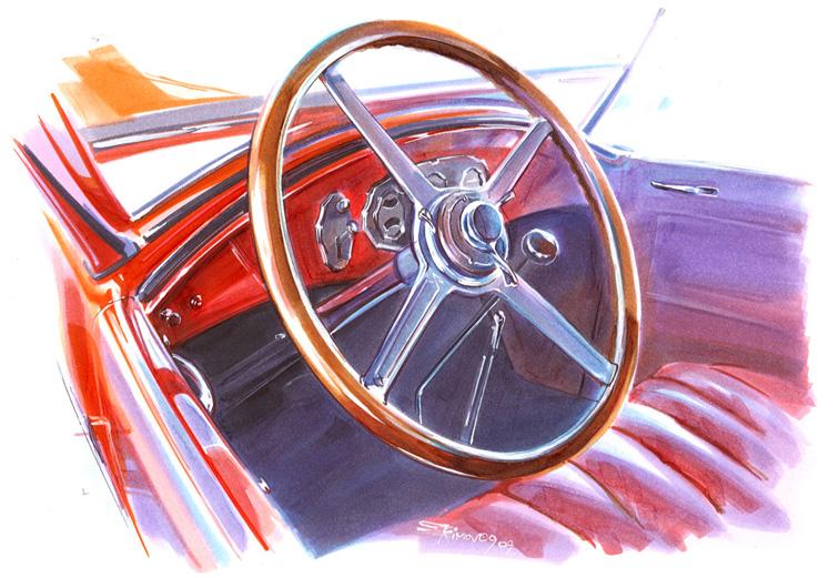 1928' Buick 24 Interior by alex-ek