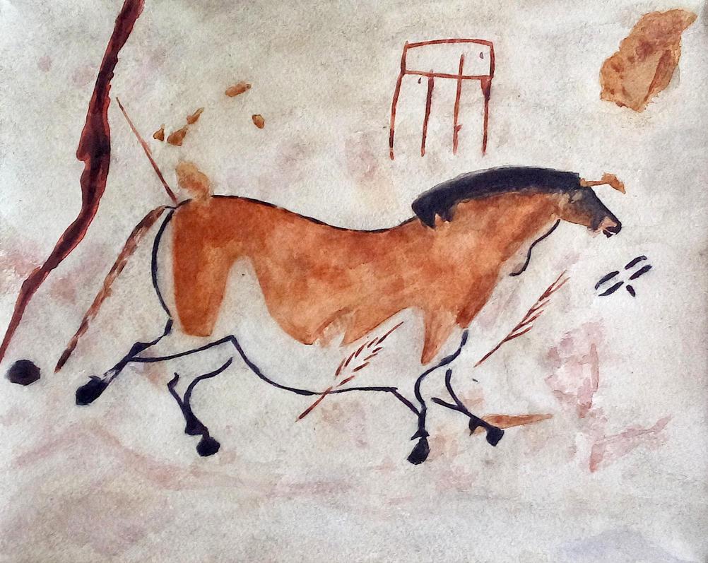 Horse by tulvit
