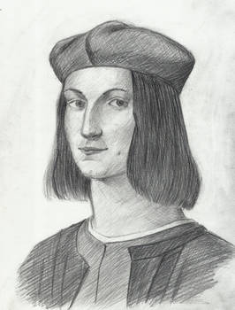 Master study, Portrait of the Young Pietro Bembo