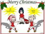 Naruto:  Sasuke-Claus