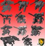 Metal Gear Rex Prelim Mesh v.1