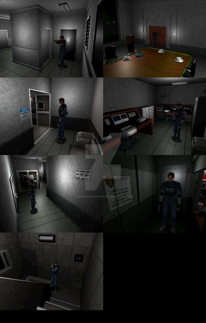 Biohazard 2 Custom Rooms by darksaviourDXP