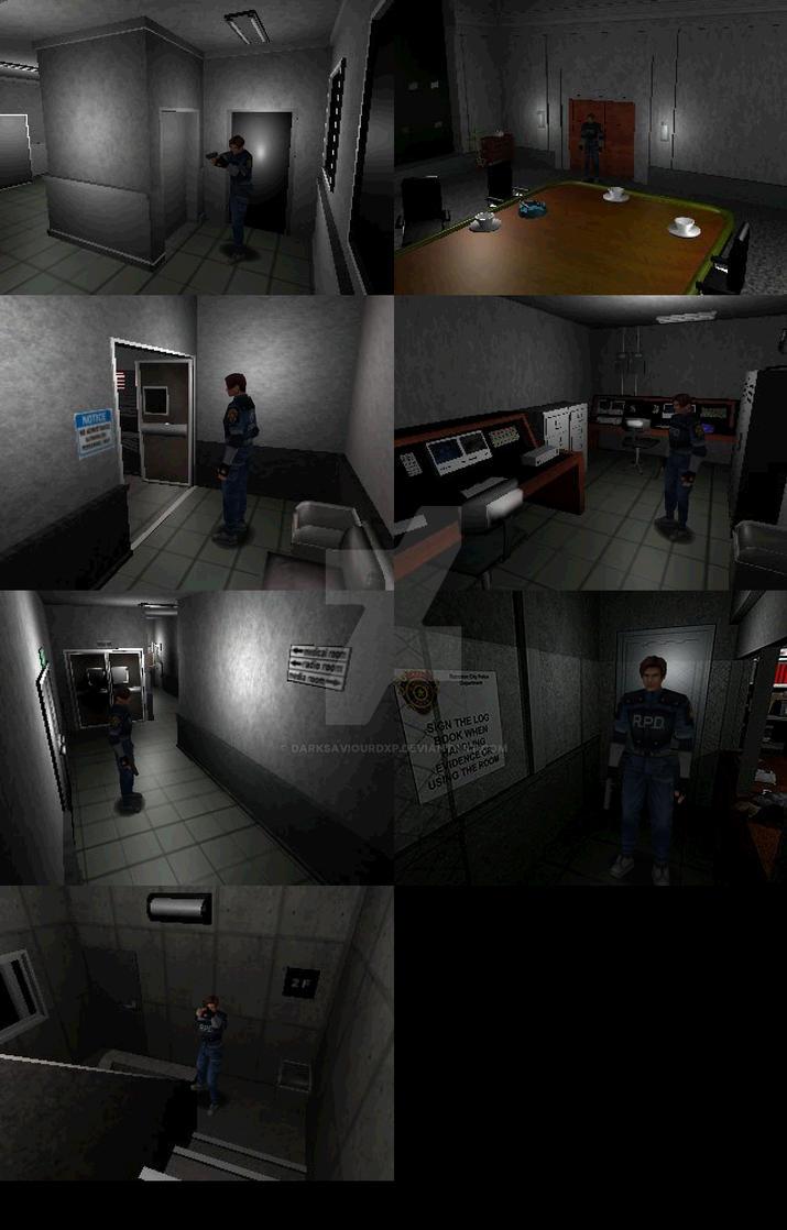 Biohazard 2 Custom Rooms by darksaviourDXP