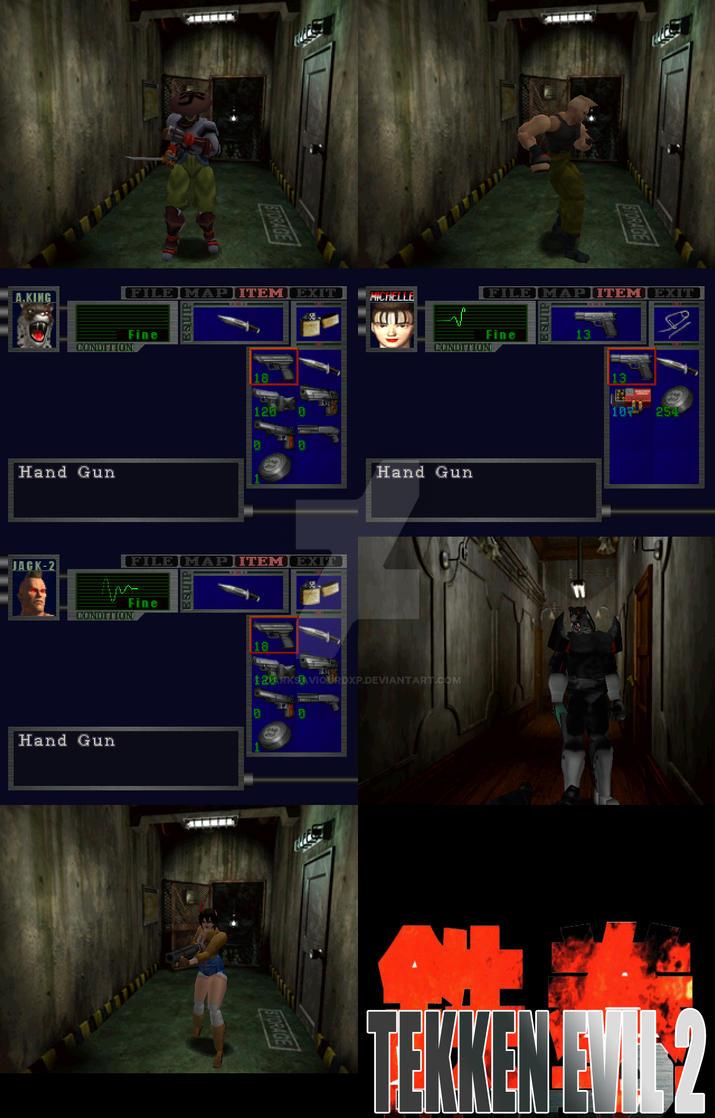 Tekken Evil 2 by darksaviourDXP