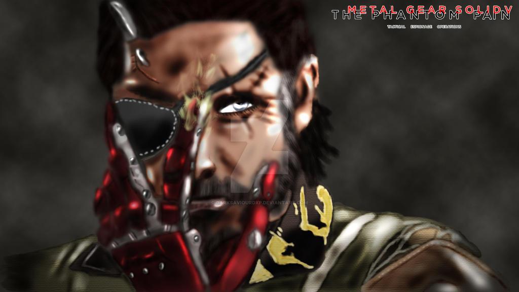 Punished Venom Snake by darksaviourDXP