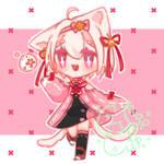 [AUCTION ADOPTABLE] : Blossom with Nekomata