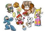 Video games heroes