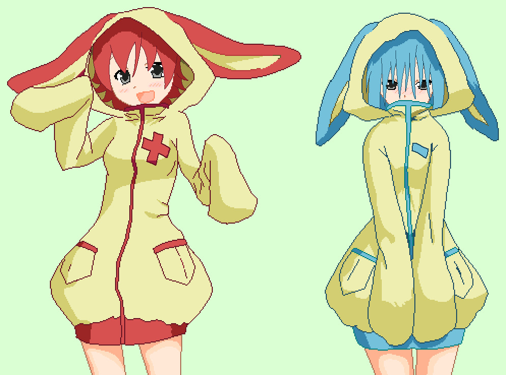 plusle and minun hoodies by snowsuiiciide-d61itdh jpgPlusle And Minun