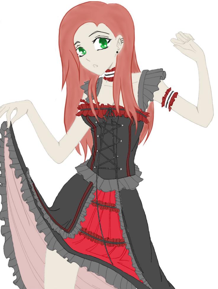 Anime Base With Dress