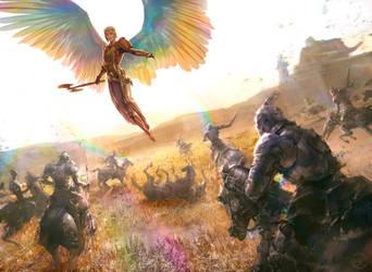 Iridescent Angel by Ryan-Alexander-Lee