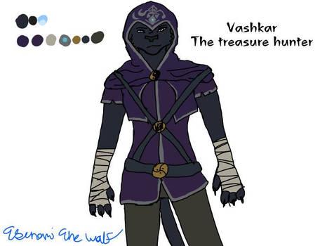 Vashkar the Treasure hunter