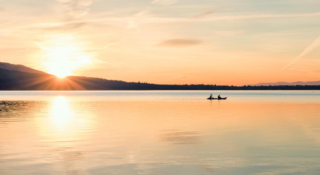 Kayaking at Sunset by Martin-Veskilt