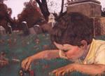 Boy In Cemetery