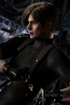 I'm not falling for that one - Leon Kennedy