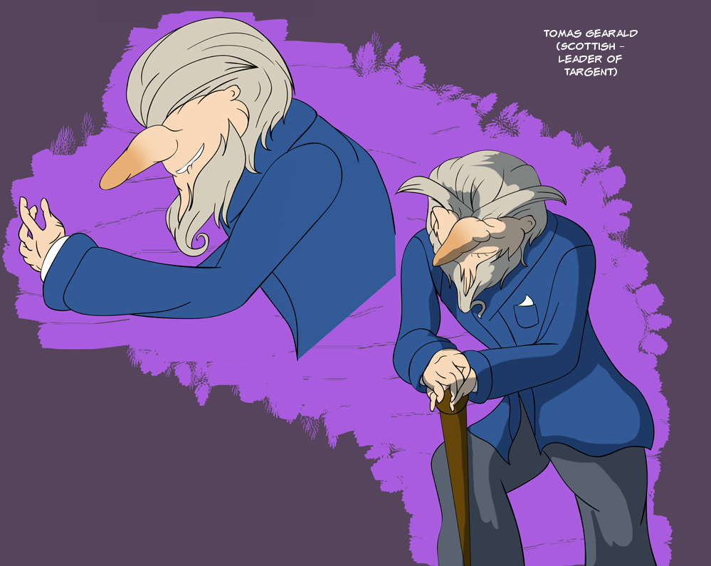 Professor Layton Fanfic - Tomas Gearald by CoolFireBird