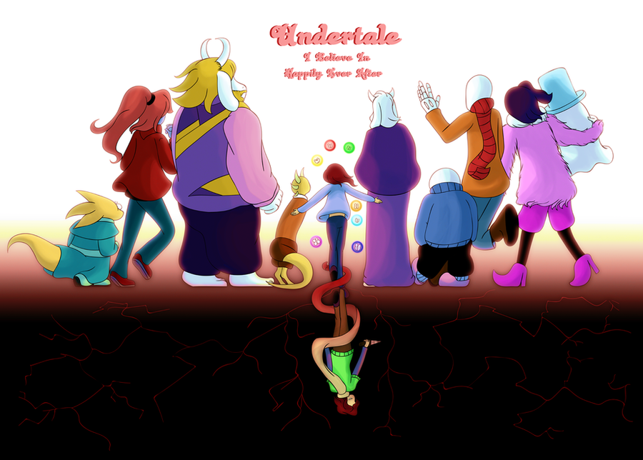 Undertale: Happily Ever After Cover by CoolFireBird