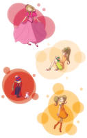 Professor Layton: Aurora In Many Colors~ by CoolFireBird