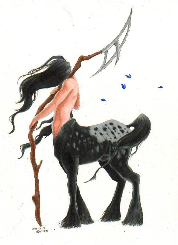 WIP centaur by vestaka