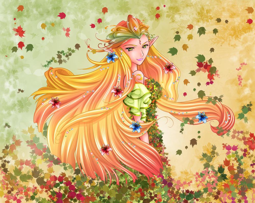 Fairy Queen - Colored by Mallagueta-Pepper